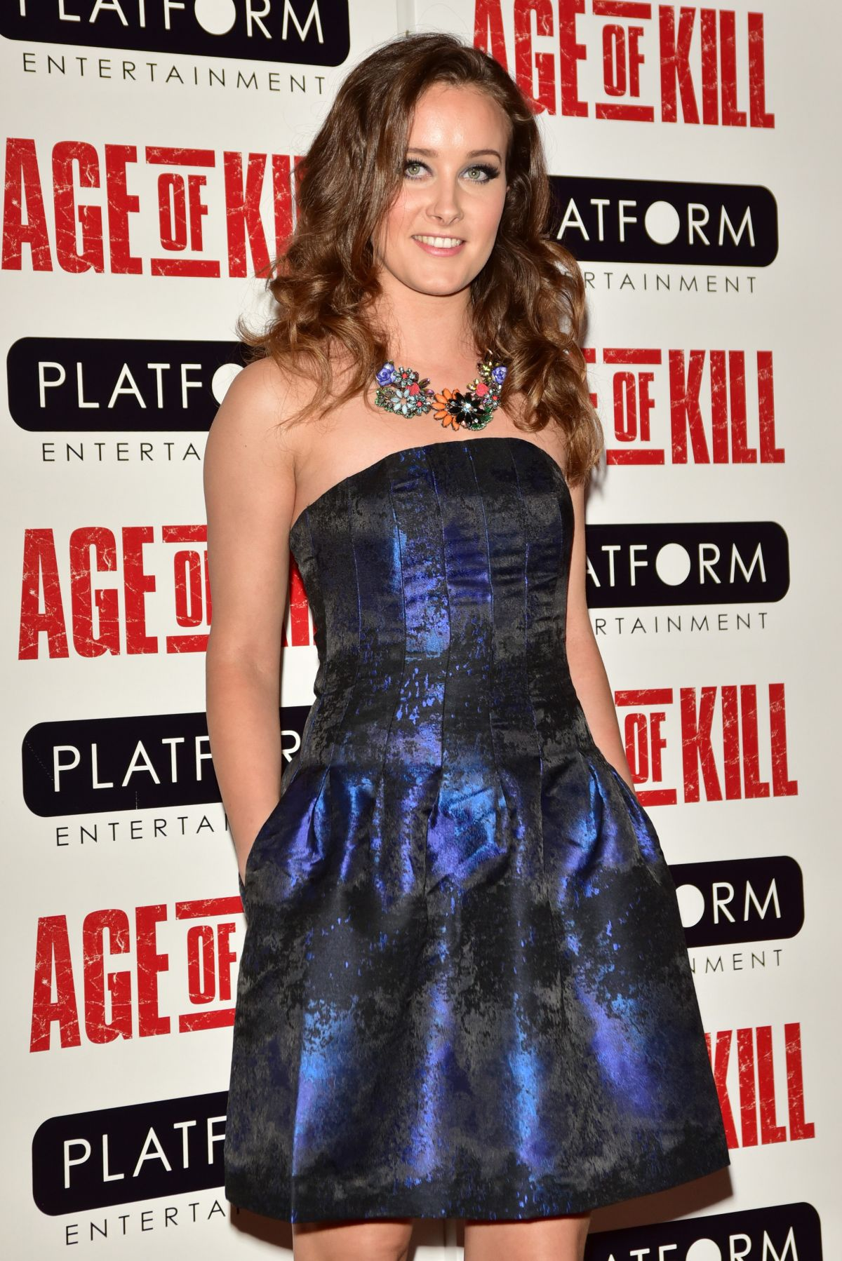 APRIL PEARSON at Age of Kill Private Screening in London