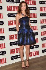APRIL PEARSON at Age of Kill Private Screening in London