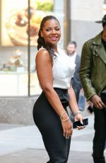 ASHANTI Out and About in New York 04/17/2015