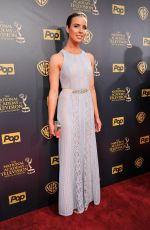 ASHLEIGH BREWER at 2015 Daytime Emmy Awards in Burbank