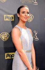 ASHLEIGH BREWER at 2015 Daytime Emmy Awards in Burbank