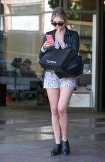 ASHLEY BENSON in SHorts Out in Beverly Hills