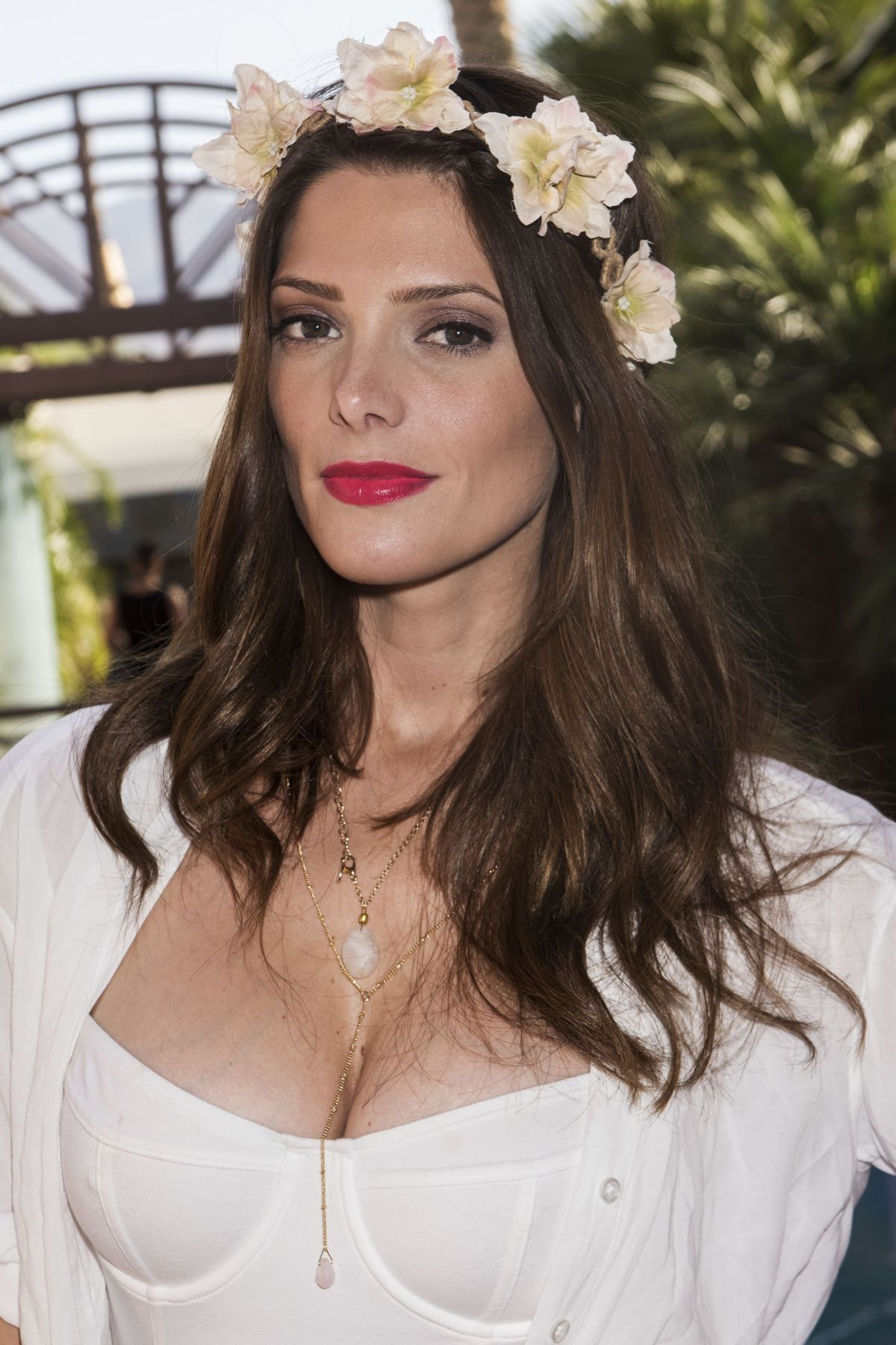 ASHLEY GREENE at Just ...