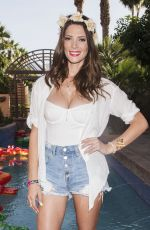 ASHLEY GREENE at Just Jared Coachella Festival Party in Indio