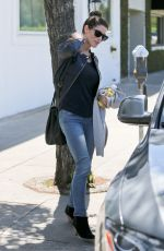 ASHLEY GREENE Out and About in Beverly Hills