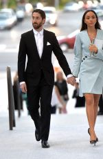 ASHLEY MADEKWE and  Iddo Goldberg Out in Los Angeles