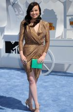 ASHLEY RICKARDS at 2015 MTV Movie Awards in Los Angeles
