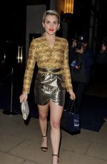 ASHLEY ROBERTS at Louise Roe Book Launch in London