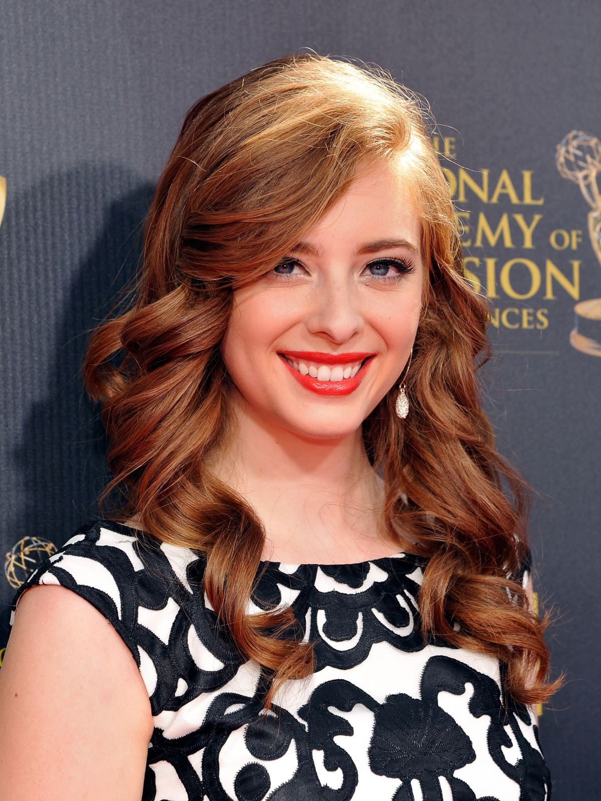 ASHLYN PEARCE at 2015 Daytime Emmy Awards in Burbank
