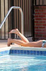 AUDRINA PATRIDGE in Bikini at a Pool in Los Angeles
