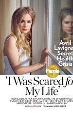 AVRIL LAVIGNE in People Magazine, April 2015 Issue