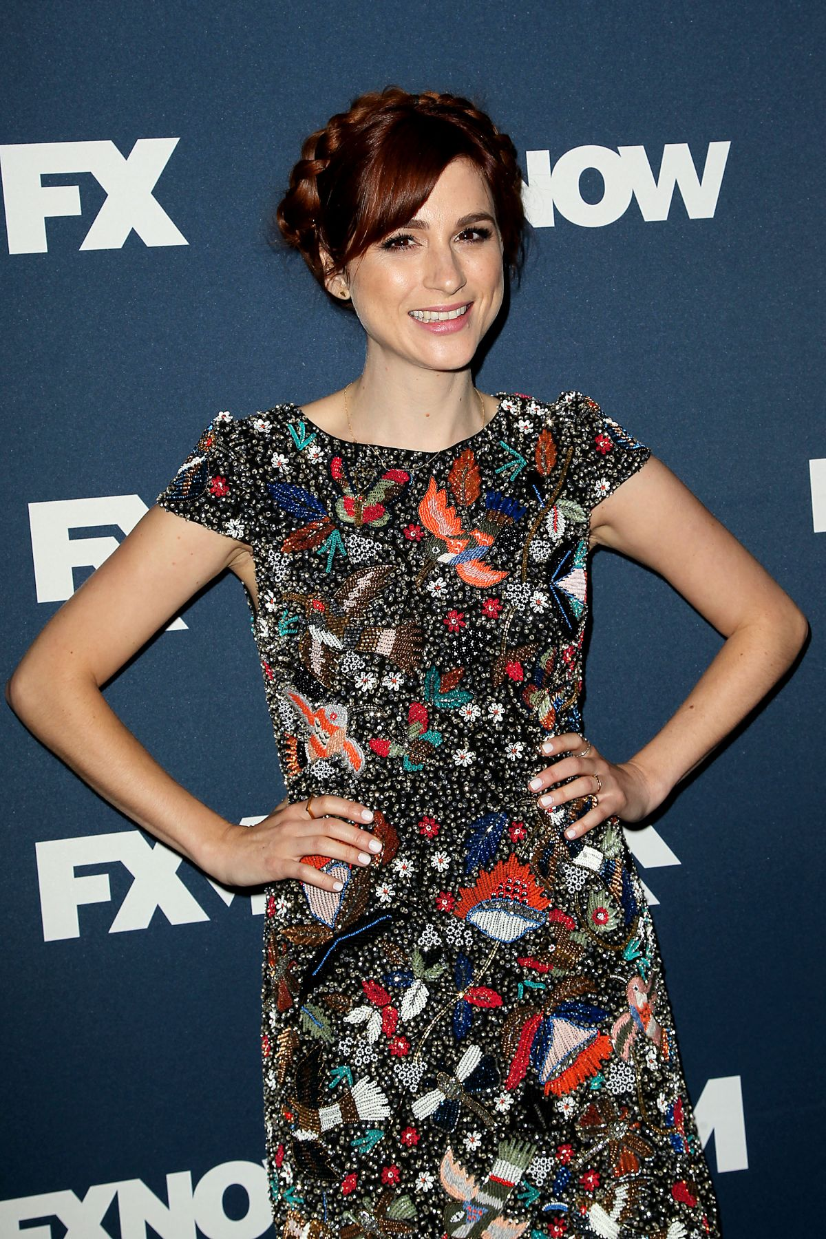 AYA CASH at FX Bowling Party in New York