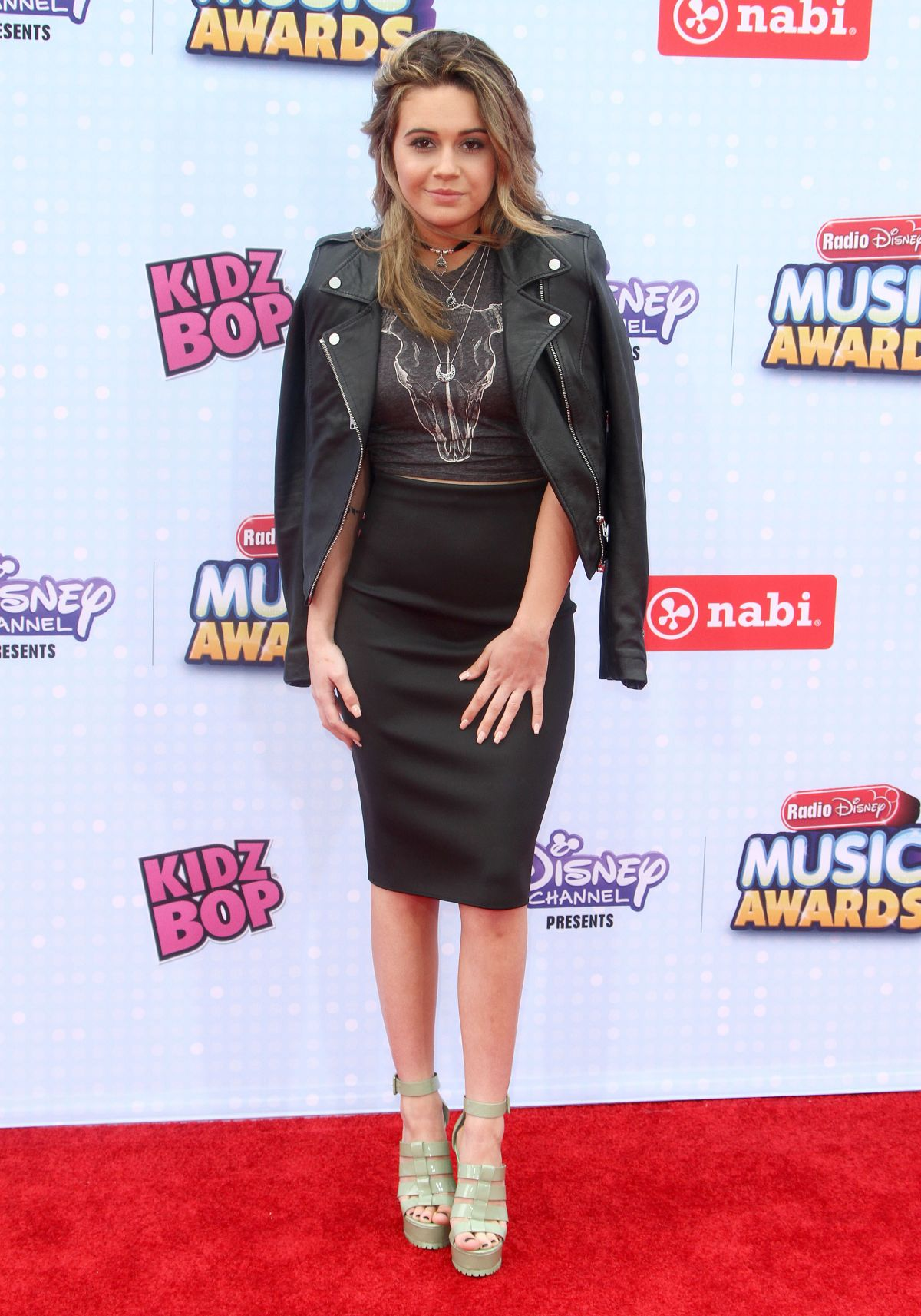 BEATRICE MILLER at 2015 Radio Disney Music Awards in Los Angeles