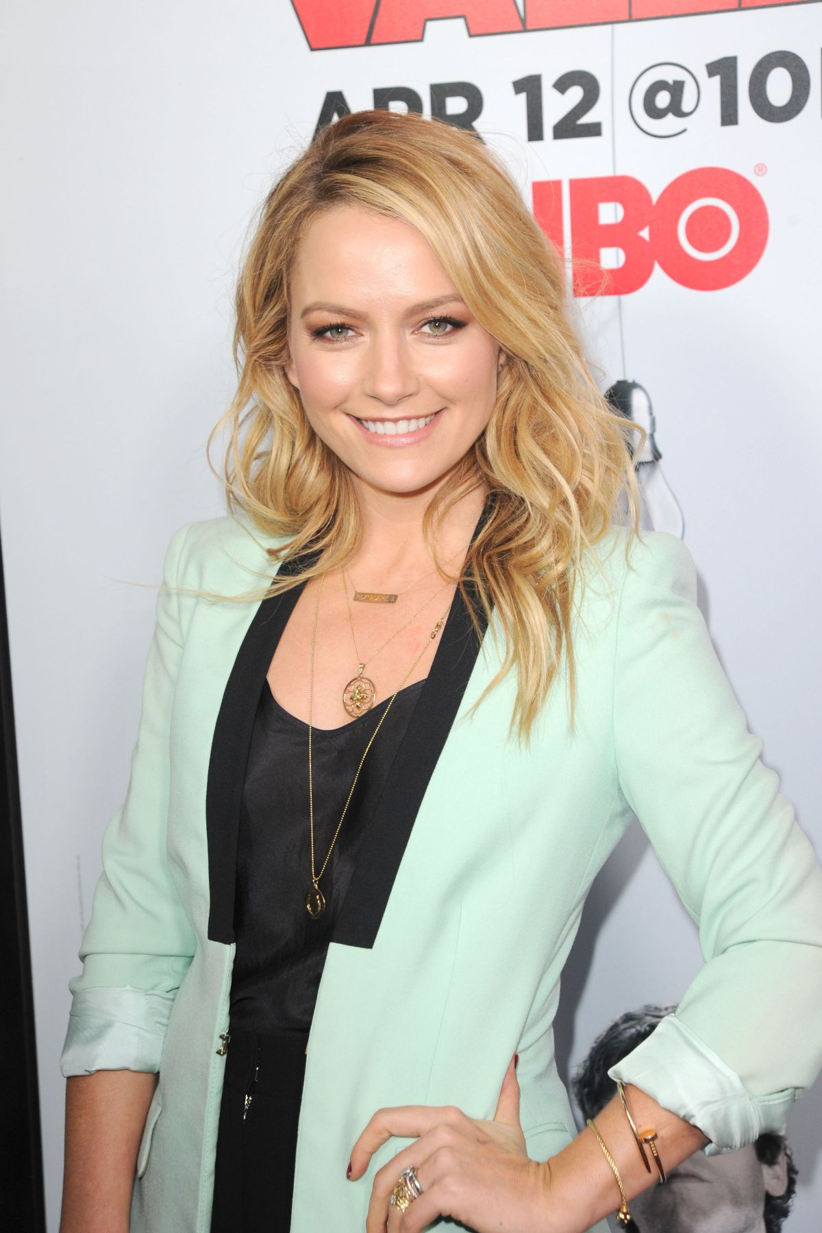 BECKI NEWTON at Silicon Valley Season 2 Premiere in Hollywood