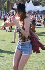 BEHATI PRINSLOO at 2015 Coachella Music Festival, Day 2