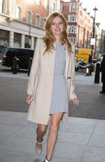 BELLA THORNE Arrives at BBC Radio 1 Studios in London