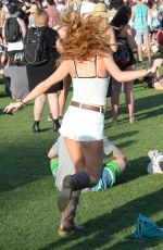 BELLA THORNE at 2015 Coachella Music Festival, Day 2