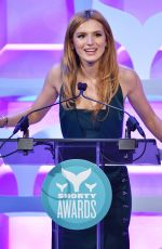 BELLA THORNE at 2015 Shorty Awards in New York