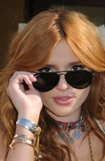BELLA THORNE at Day 1 of Birchbos Cabana at Interview Magazine's Coachella House