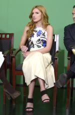 BELLA THORNE at Fox 5 Good Day New York in New York