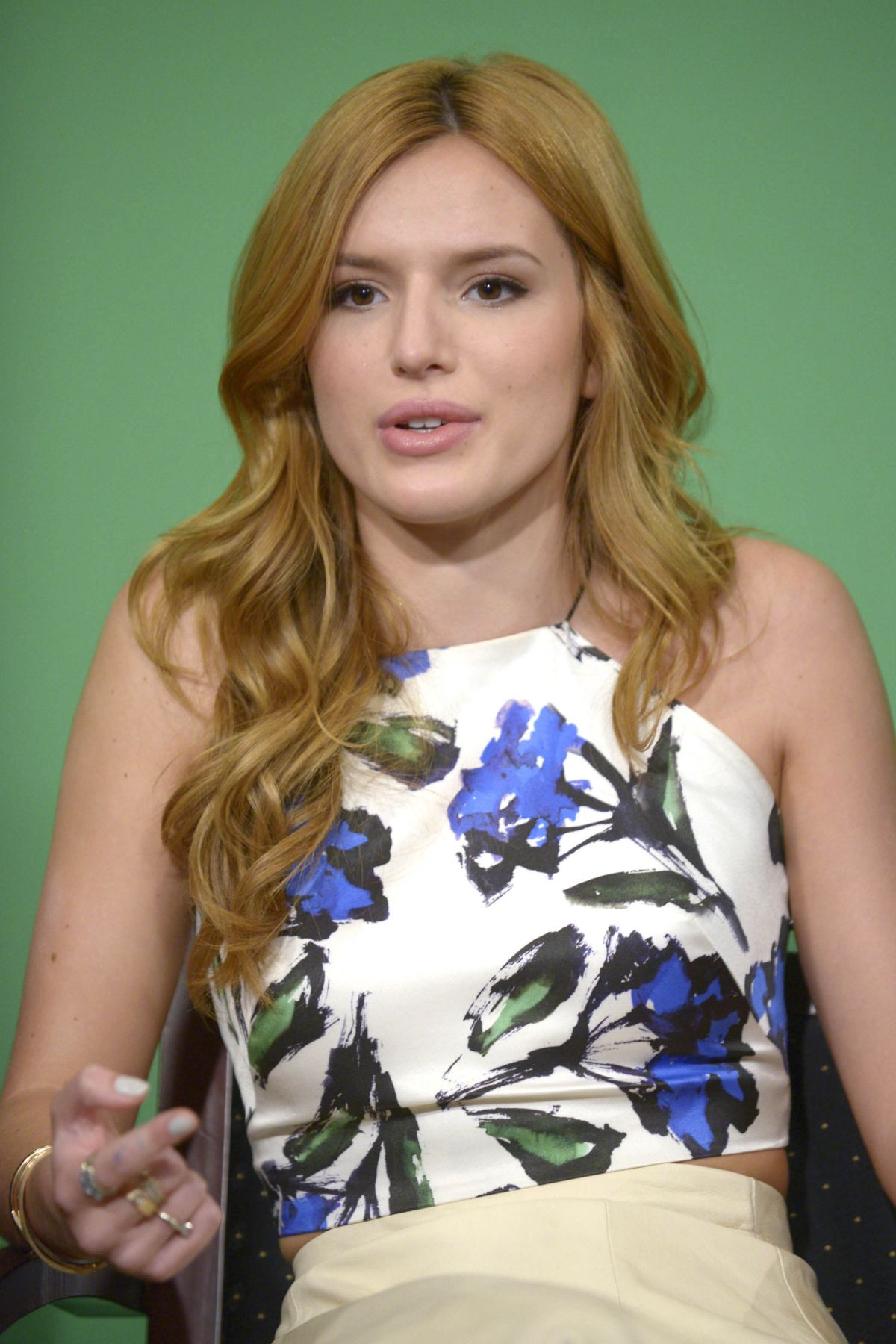 BELLA THORNE at Fox 5 Good Day New York in New York – HawtCelebs