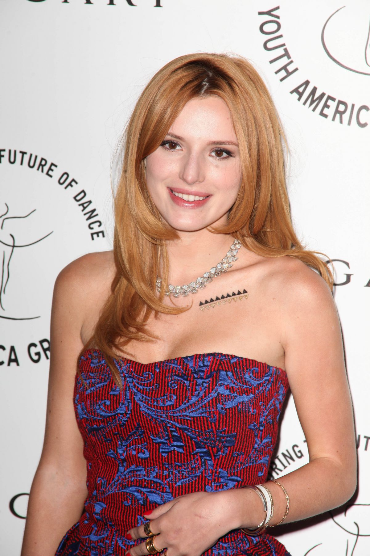 BELLA THORNE at Youth America Grand Prix 2015 Gala in New York