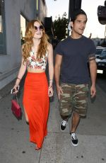 BELLA THORNE Leaves Chateau Marmont in West Hollywood 04/26/2015
