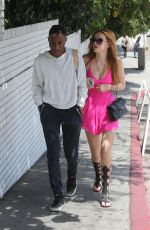 BELLA THORNE Out and About in West Hollywood 04/26/2015