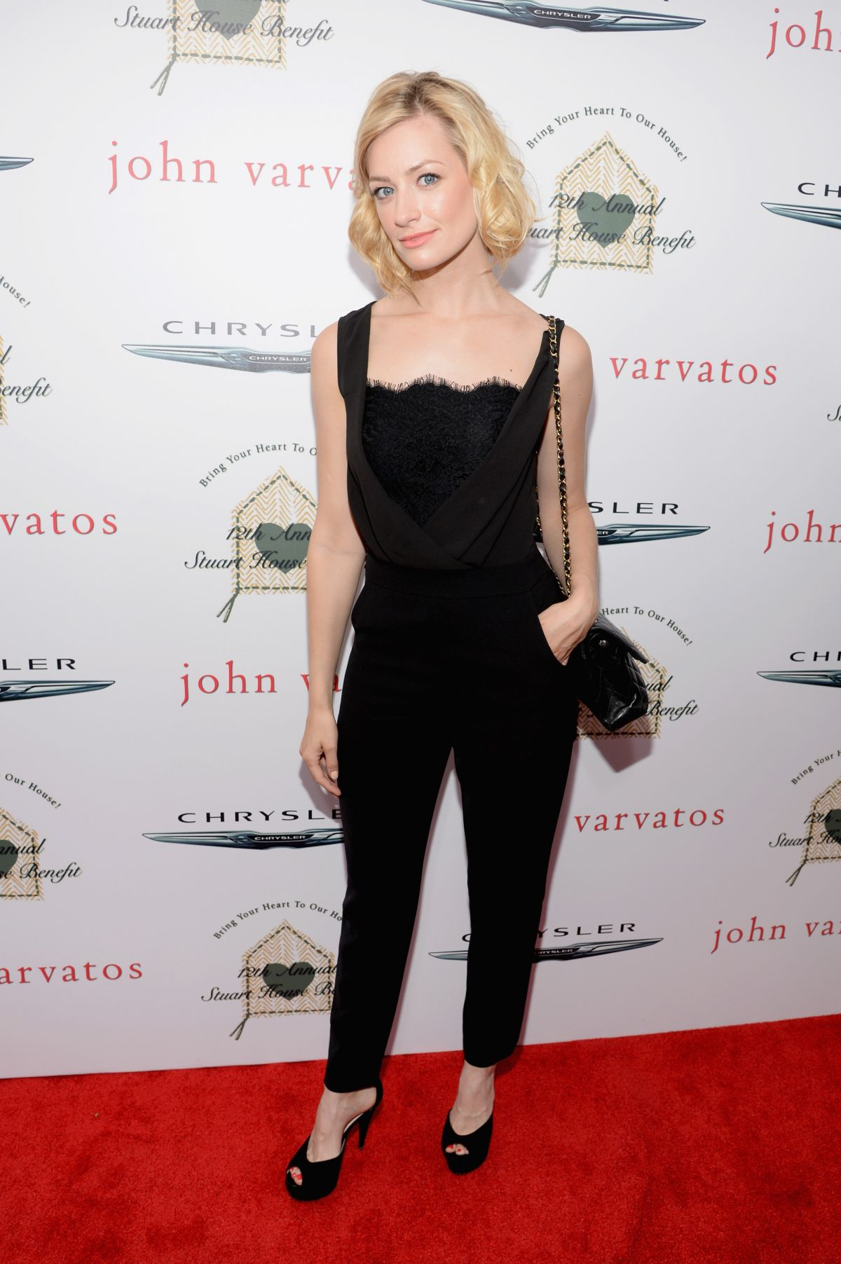 BETH BEHRS at John Varvatos at 2015 Stuart House Benefit in Los Angeles