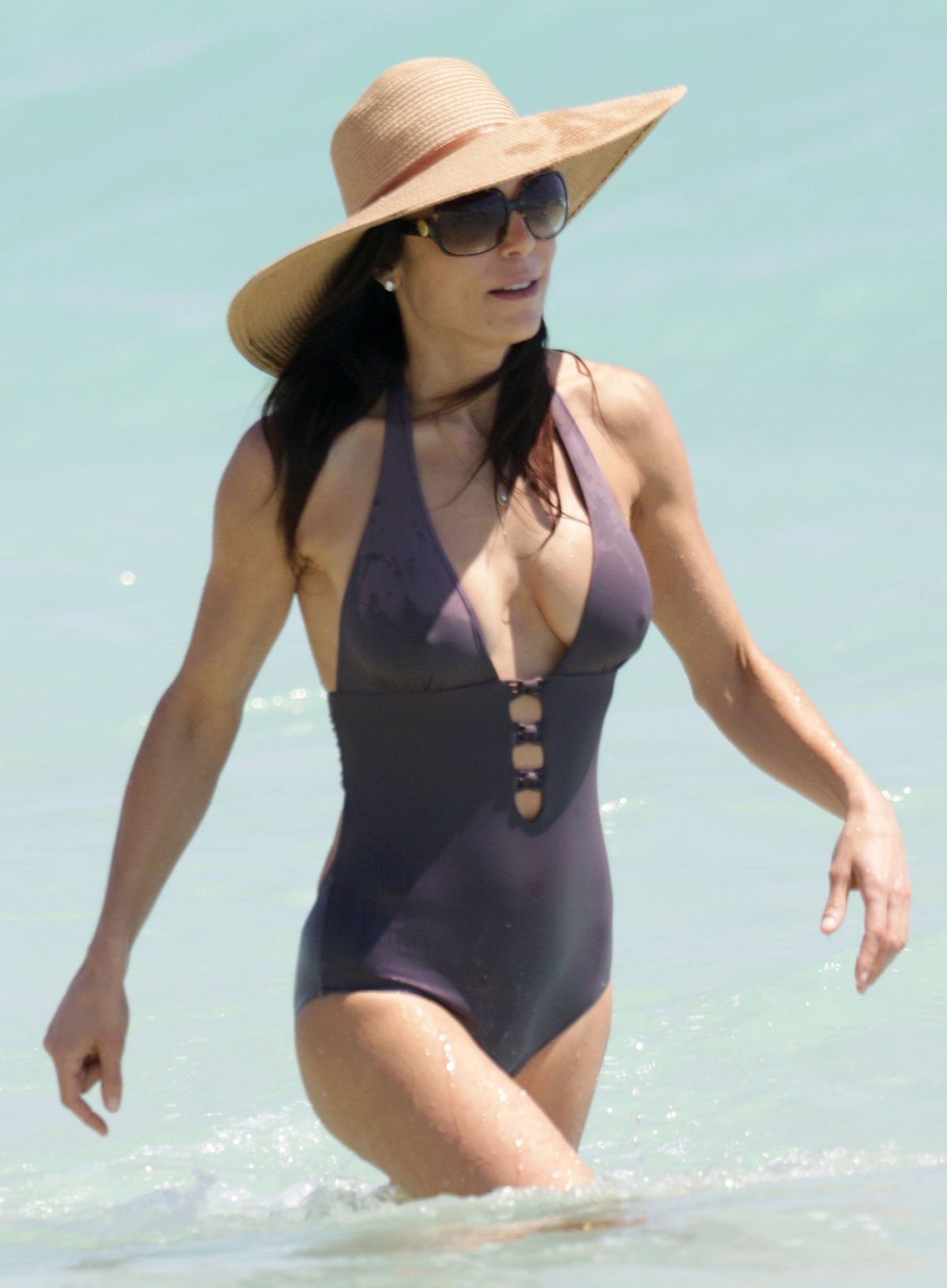 2c175ba7ca5 BETHENNY FRANKEL in Swimsuit at a Beach in Miami – HawtCelebs