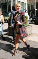 BLAKE LIVELY Arrives at SiriusXM Studios in New York 04/21/2015