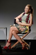 BLAKE LIVELY at Apple Store Soho Presents Meet the Filmmaker: Blake Lively in New York