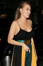 BLAKE LIVELY Out in New York 04/21/2015