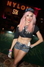 BONNIE MCKEE at Nylon Midnight Garden Party in Bermuda Dunes