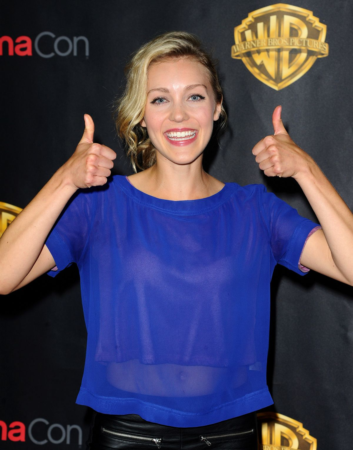 BREANNE PARHIALA at 2015 Cinemacon in Las Vegas