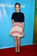 BRIDGIT MENDLER at 2015 NBCUniversal Summer Press Day in Pasadena