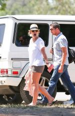 BRITNEY SPEARS at Soccer Game in Los Angeles 04/26/2015