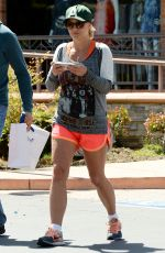 BRITNEY SPEARS in Shorts Out and About in Thousand Oaks