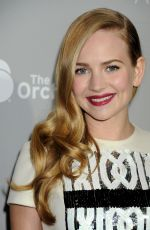 BRITT ROBERTSON at Dior and I Premiere in Los Angeles