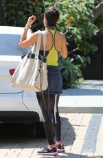 BROOKE BURKE Out and About in Malibu 04/29/2015