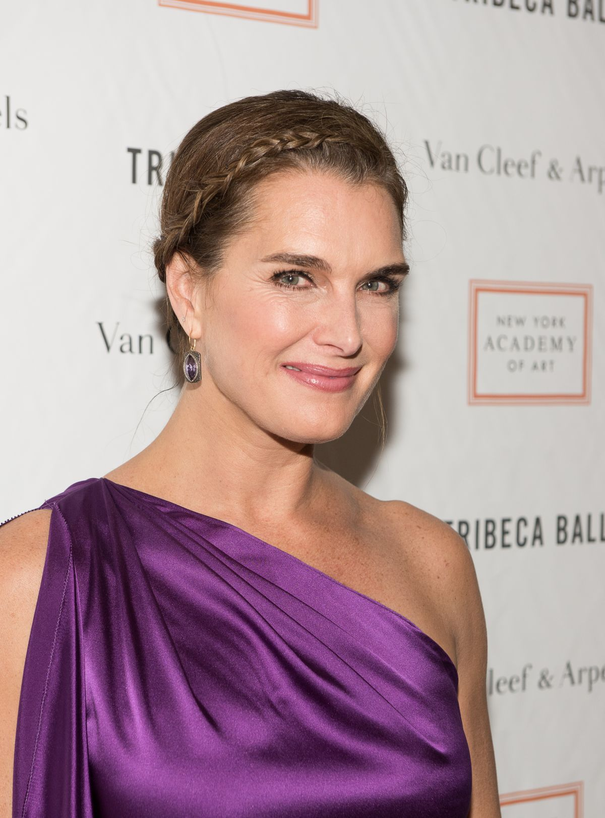 BROOKE SHIELDS at 2015 Tribeca Ball in New York - HawtCelebs ...