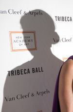 BROOKE SHIELDS at 2015 Tribeca Ball in New York