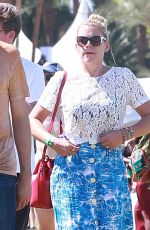 BUSY PHILIPPS at Coachella Valley Music Festival in Indio