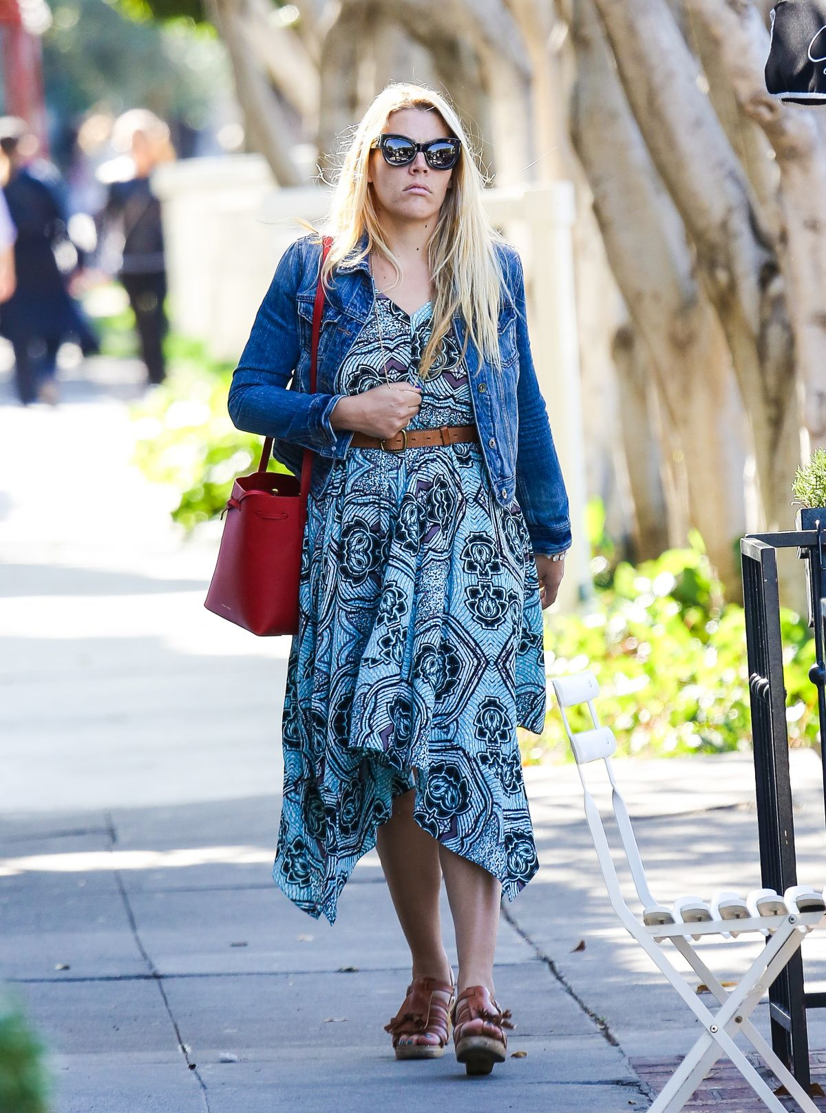 BUSY PHILIPPS Out and About in West Hollywood