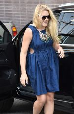 BUSY PHILLIPS Out and About in Beverly Hills