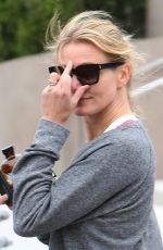 CAMERON DIAZ Leaves a Gym in Beverly Hills 04/22/2015
