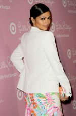 CAMILA ALVES at Lilly Pulitzer for Target Launch in New York