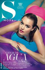 CAMILLE ROWE in S Moda Magazine, Spain April 2015 Issue