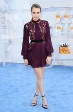 CARA DELEVINGNE at 2015 MTV Movie Awards in Los Angeles