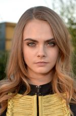 CARA DELEVINGNE at Burberry London in Los Angeles Event in Los Angeles